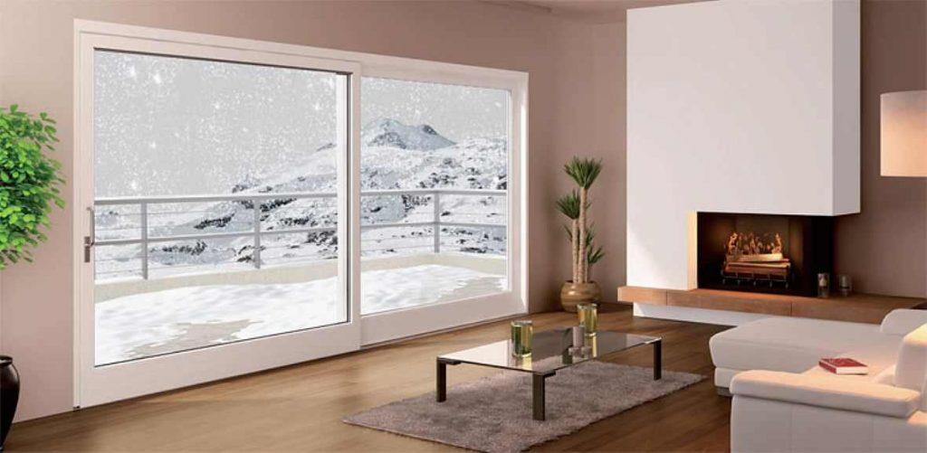 Sistema pvc scorrevole alzante per esterno geneo it extermo - Griglie per finestre esterne ...